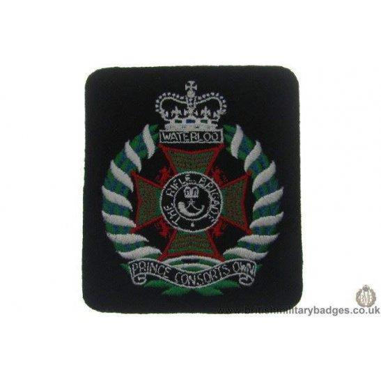R1A/53 - The Rifle Brigade Regiment Blazer Badge
