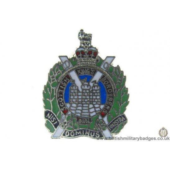 S1A/01 - Kings Own Scottish Borderers Regiment Lapel Badge