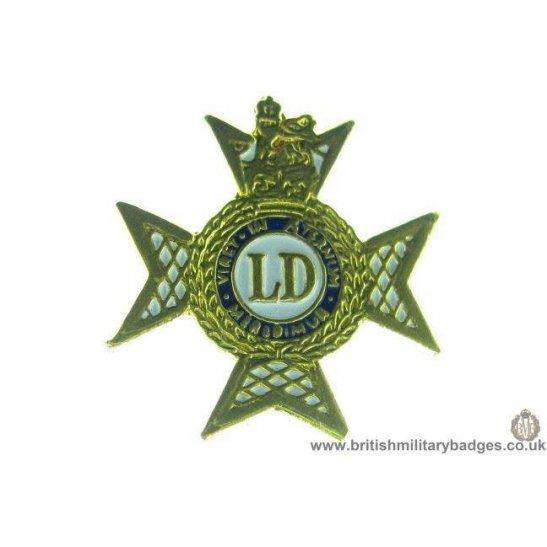 S1A/10 - The Light Dragoons Regiment Lapel Badge