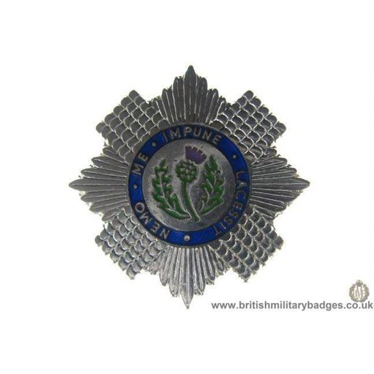 S1A/25 - Scots Guards Regiment Lapel Badge
