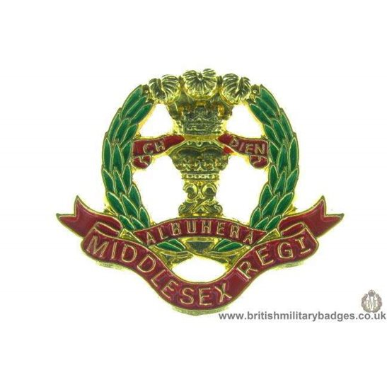 S1A/26 - The Middlesex Regiment Lapel Badge