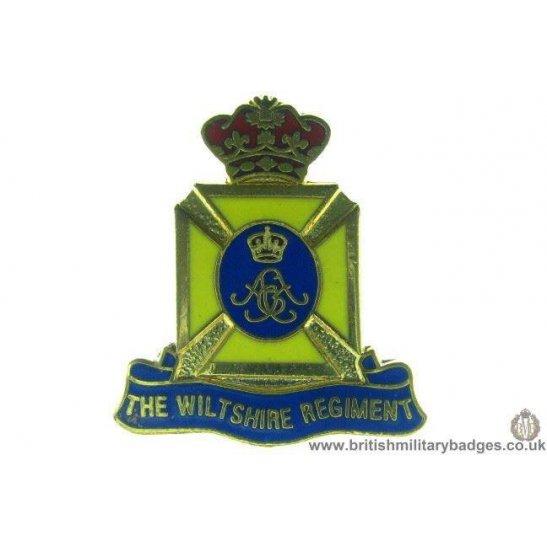 S1A/35 - The Wiltshire Regiment Lapel Badge
