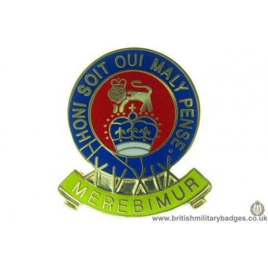 S1A/55 - 15th / 19th Hussars Regiment Lapel Badge