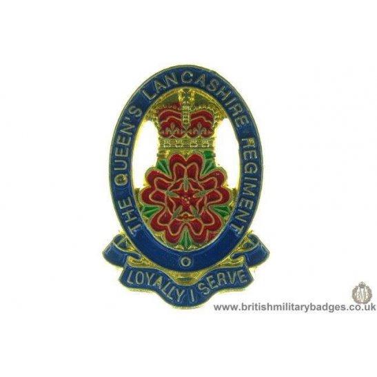 S1A/72 - The Queens Lancashire Regiment Lapel Badge