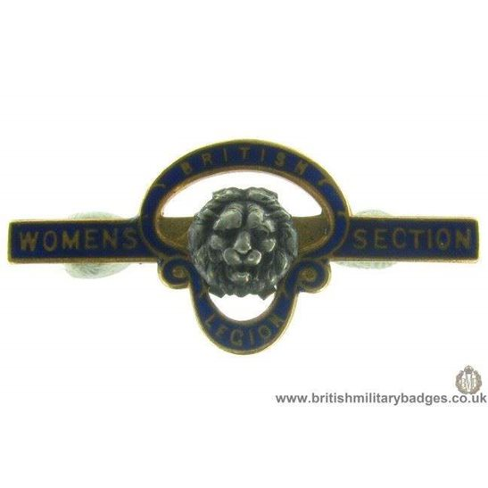 J1A/22: Royal British Legion Womens Section Pin Badge