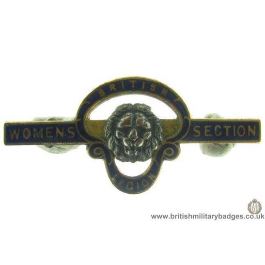 J1A/24: Royal British Legion Womens Section Pin Badge