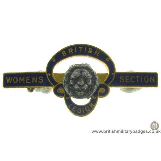 J1A/25: Royal British Legion Women's Section Pin Badge