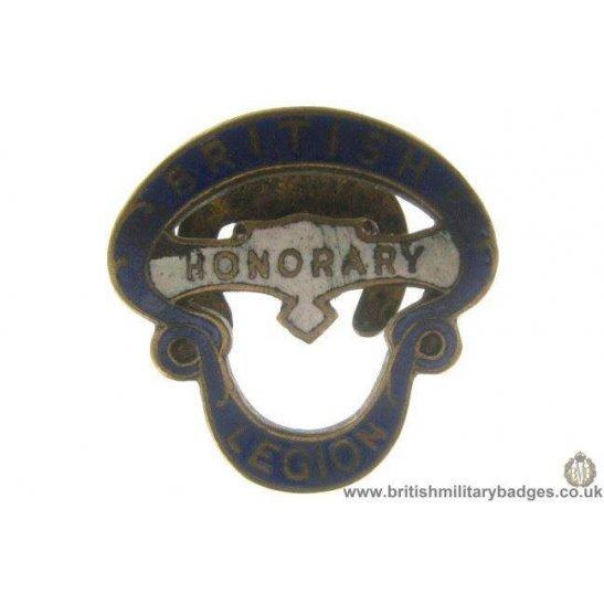 J1A/33: Royal British Legion Honorary Members Large Lapel Badge