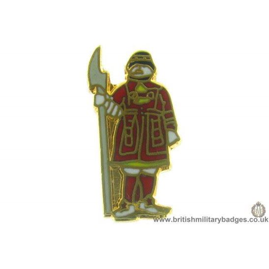 S1A/95 - Tower of London Yeoman Warders Beefeaters Lapel Badge