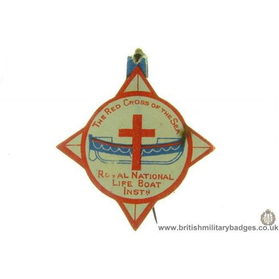 K1B/13 Royal National Lifeboat Institute RNLI Flag Day Pin Badge
