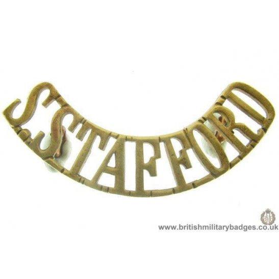 C1A/06 - South Staffordshire Regiment Shoulder Title