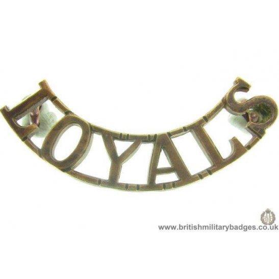 C1A/48 - Loyal North Lancashire Regiment Shoulder Title