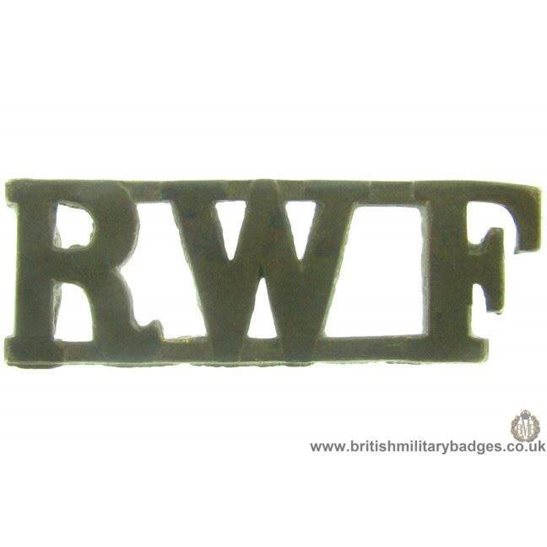 C1A/84 - Royal Welsh / Welch Fusiliers Regiment Shoulder Title