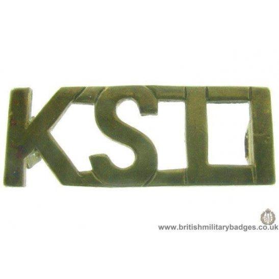 C1B/04 - Kings Shropshire Light Infantry Regiment Shoulder Title