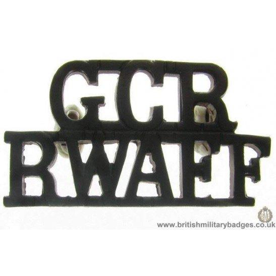 C1C/78 - Royal West African Frontier Force Shoulder Title
