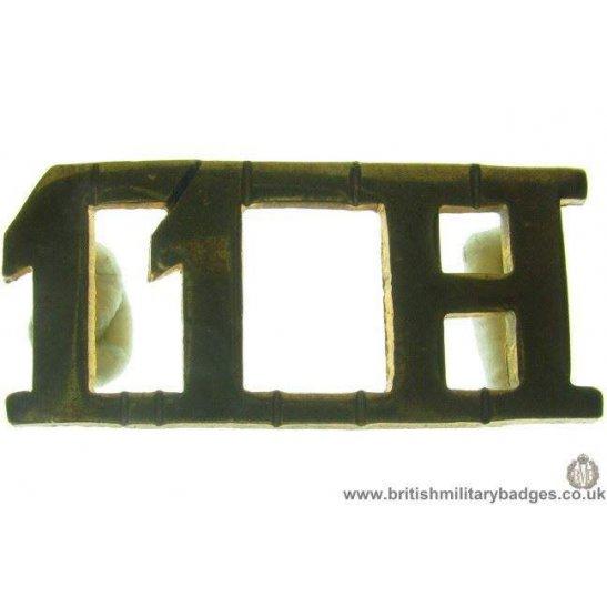 C1D/03 - 11th Hussars Regiment Shoulder Title