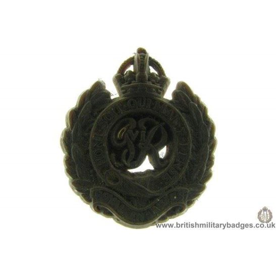 D1A/02 - Royal Engineers Corps PLASTIC Cap Badge