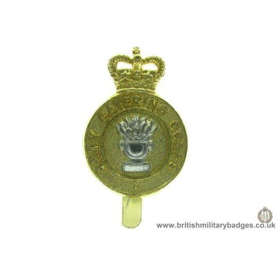 F1A/10 - Army Catering Corps Staybrite Cap Badge