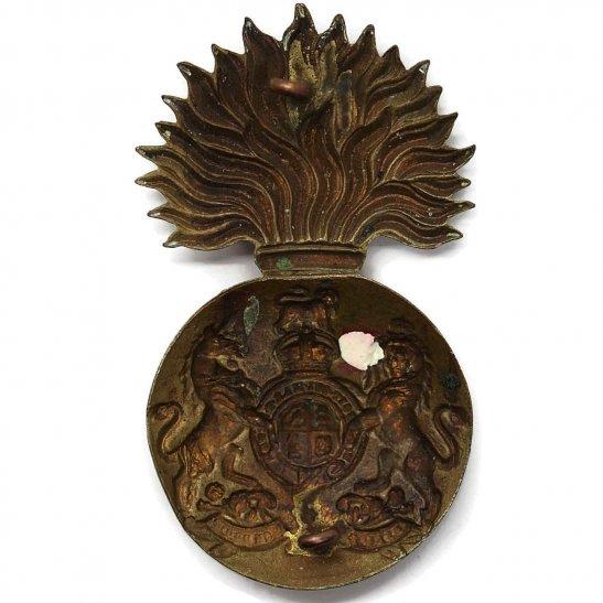 additional image for WW1 Royal Scots Fusiliers (Scottish) Regiment Cap Badge