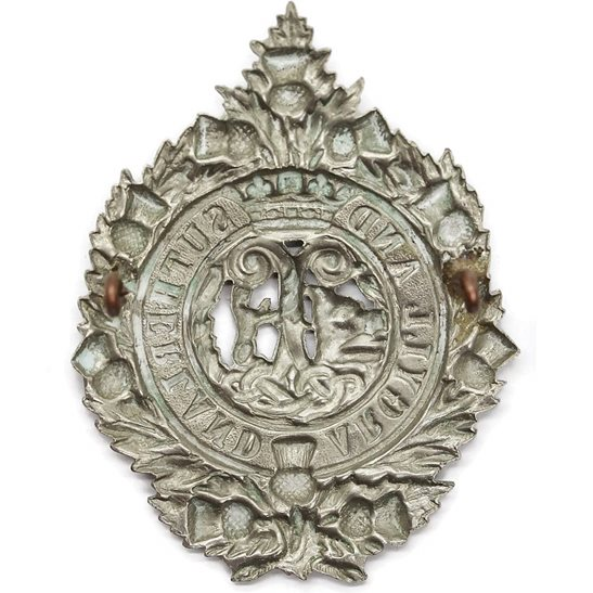 additional image for Argyll and Sutherland Highlanders Regiment Cap Badge